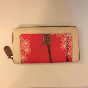 Orla Kiely Poppy Wallet